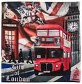 Gift'n'Home Чехол для подушки Gift n Home Лондонские Фантазии 40х40 см (НВЛ-40 Ldream(g))