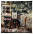 Чехол для подушки Gift'n'Home Парижское кафе 40х40 см (НВЛ-40 Cafe(g))