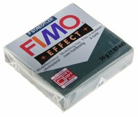Полимерная глина FIMO Effect запекаемая зеленый опал металлик (8020-58), 57 г