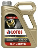 Моторное масло LOTOS Synthetic C2+C3 5W-30