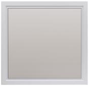 Зеркало 1Marka Прованс 85 Белый глянец (83х85) в раме