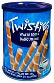Вафельные трубочки Twisties с ванильным кремом 400 г