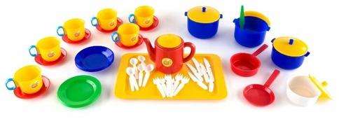 Набор посуды Пластмастер Шеф повар 21010