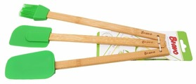 Набор навесок Bravo 166, бамбук/силикон (3 шт.)