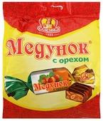 Конфеты Славянка Медунок с орехом, пакет