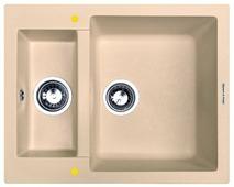 Врезная кухонная мойка Zigmund & Shtain RECHTECK 600.2 60х49см искусственный гранит