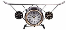 Часы настольные Русские подарки Аэроплан