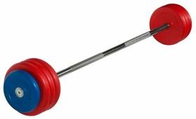 Набор спортивных штанг MB Barbell неразборная MB-BarMW-C 40 кг