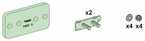 Комплектующие для сборных шин (шинопровода) Schneider Electric 04620