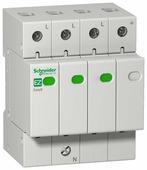 Устройство защиты от импульсных перенапряжений (УЗИП) 3P+N, тип 2, 45kA EASY 9 Schneider Electric, EZ9L33745