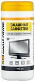 MAGIC POWER MP-820 влажные салфетки 100 шт. для экрана