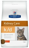 Корм для кошек Hill's Prescription Diet при проблемах с почками, с курицей