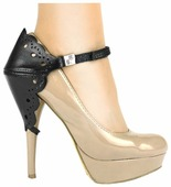 Автопятка Heel Mate de Luxe Ажурная для женской обуви на каблуке, натуральная кожа