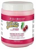 Маска Iv San Bernard Fruit of the Groomer Black Cherry для кошек и собак с короткой шерстью с протеинами шелка 1000 мл
