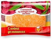 Владимирский хлебокомбинат Слойка Домашняя, малина