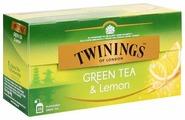 Чай зеленый Twinings с лимоном в пакетиках