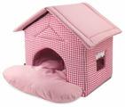 Домик для собак, для кошек Гамма Садовый 50х46х45 см
