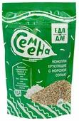 Еда на да! Семена конопли хрустящие с морской солью 100 г
