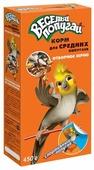 Зоомир корм Веселый Попугай с отборным зерном для средних попугаев