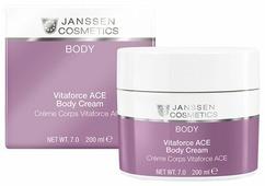 Крем для тела Janssen насыщенный с витаминами A, C, E