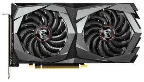 Видеокарта MSI GeForce GTX 1650 1860MHz PCI-E 3.0 4096MB 8000MHz 128 bit HDMI HDCP GAMING X