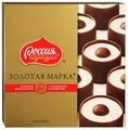 Набор конфет Россия - Щедрая душа! Золотая марка с карамелью и арахисом 184 г