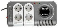 Стабилизатор напряжения однофазный Wester STW-1500P (0.75 кВт)