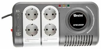 Стабилизатор напряжения Wester STW-1500P