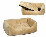 Лежак для собак Zoo-M Lion 103х75х27 см