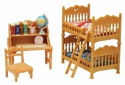 Игровой набор Sylvanian Families Детская комната с двухэтажной кроватью 5338