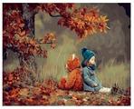"ВанГогВоМне Картина по номерам ""Осеннее вдохновение"", 40х50 см (ZX 20925)"