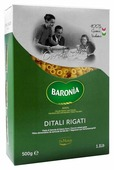 Baronia Макароны Ditali Rigati, 500 г