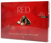Набор конфет Red Пралине из молочного шоколада 132 г