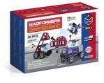 Магнитный конструктор Magformers Amazing 717001 Police & Rescue Set