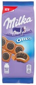 Шоколад Milka Oreo Sandwich молочный с целыми «Орео» с начинкой со вкусом ванили