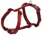 Шлейка для собак TRIXIE Premium H-Harness M-L 20 мм 52-75 см бургунди (203400)