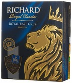 Чай черный Richard Royal earl grey в пакетиках