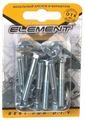 Болт ELEMENT мебельный DIN 603 16 шт.