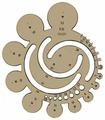 KOH-I-NOOR Шаблон геометрических радиусов (074900200000)