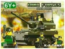 Конструктор SLUBAN Сухопутные войска M38-B9800