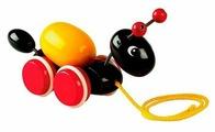 Каталка-игрушка Brio Ant with Rolling Egg (30367)
