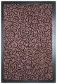 Придверный коврик Vebe Грязезащитный Brasil 80 коричневый
