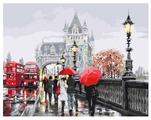 "ВанГогВоМне Картина по номерам ""Дождливый Лондон"", 40х50 см (ZX 20203)"