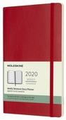 Еженедельник Moleskine Classic Soft WKNT Large датированный на 2020 год, 72 листов