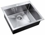 Врезная кухонная мойка ZorG INOX RX-5951 59х51см нержавеющая сталь