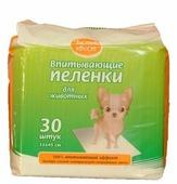 Пеленки для собак впитывающие Чистый хвост 68634/CT334530 45х33 см