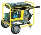 Дизельный генератор CHAMPION DW190AE (4200 Вт)