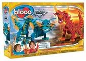 Конструктор Bloco Dragon 35001 Огненный и водяной драконы