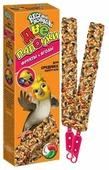 Лакомство для птиц Зоомир Веселый Попугай с фруктами и ягодами для средних попугаев