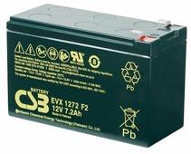 Аккумулятор для ИБП CSB EVX1272 F2 (12В/7.2 А·ч)
